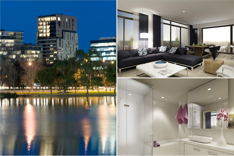 Tate Luxury Apartments - 572 St Kilda Road, Melbourne